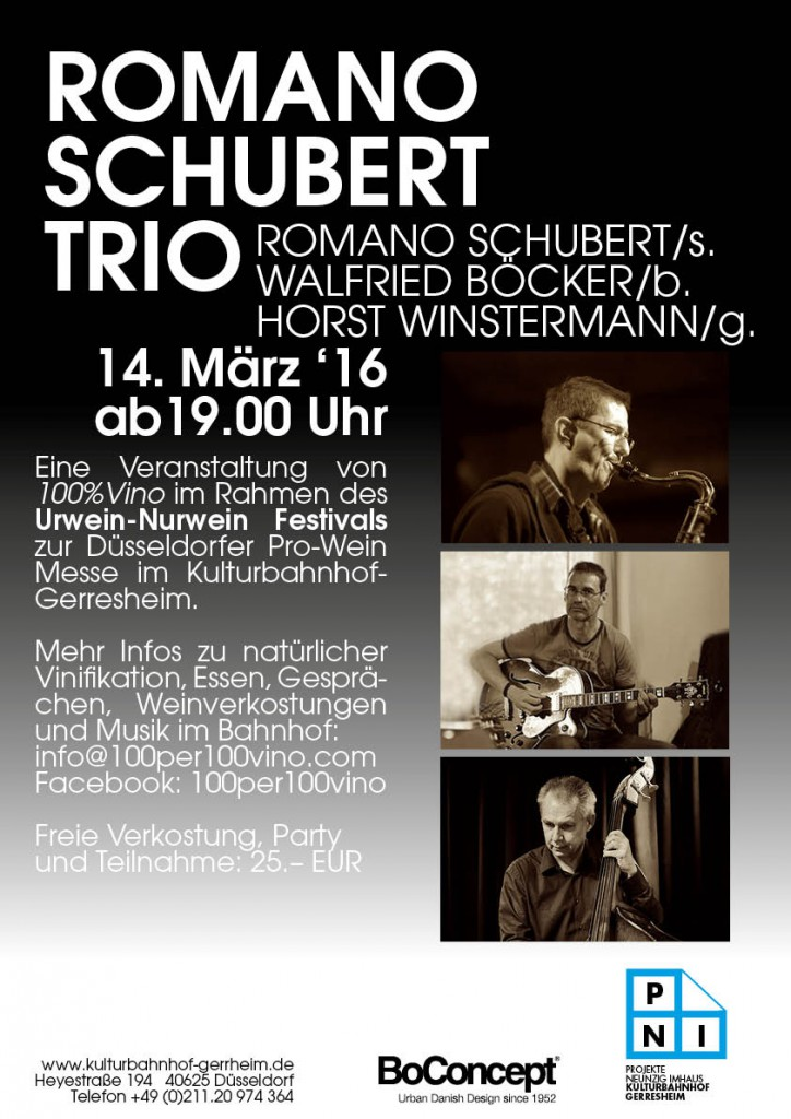 Plakat Jazz4 Boecker